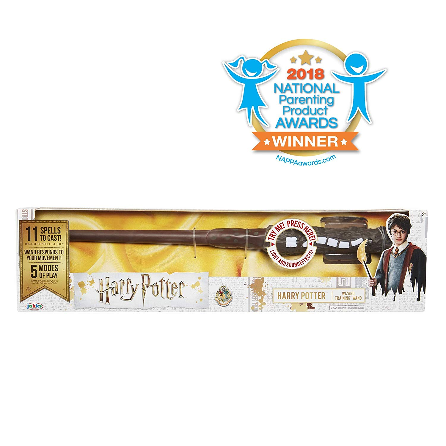 harry potter's training wand in box is one of the holiday toys we all need