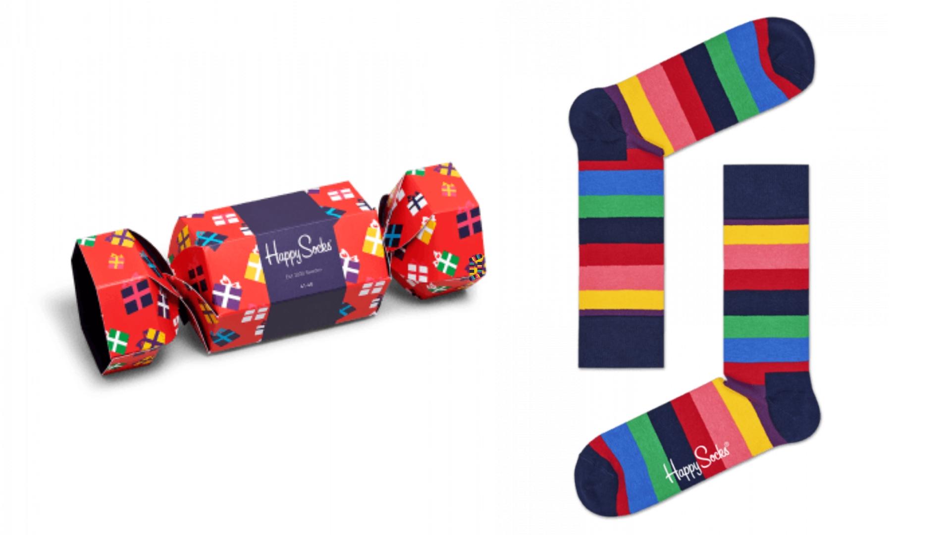 holiday cracker 1 pack happy socks