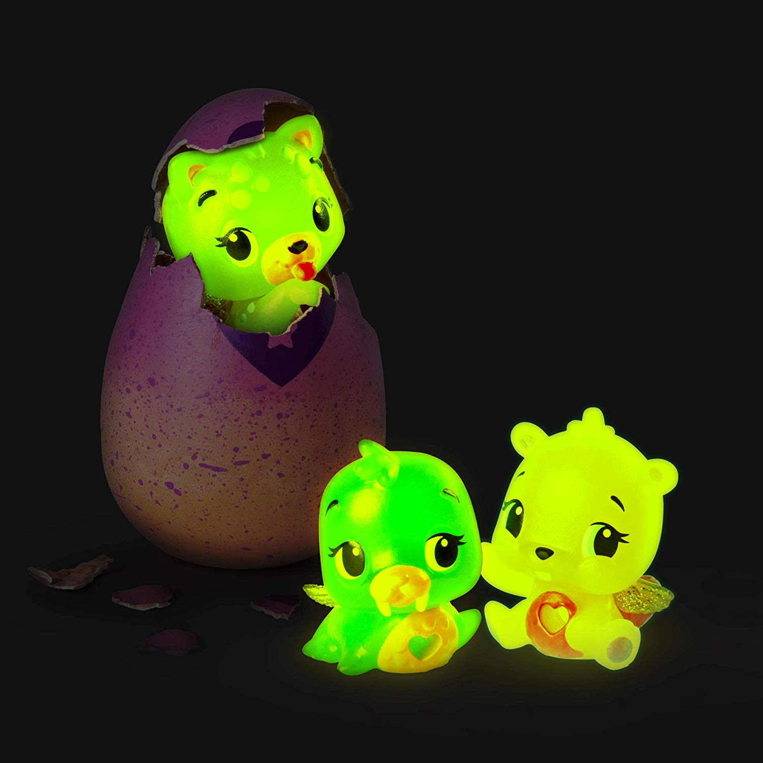 holiday toys that glow: these neon hatchimals are cute