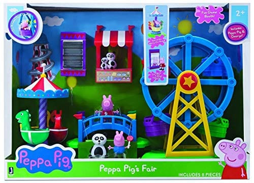 holiday toys you need: peppa pig's fair playset