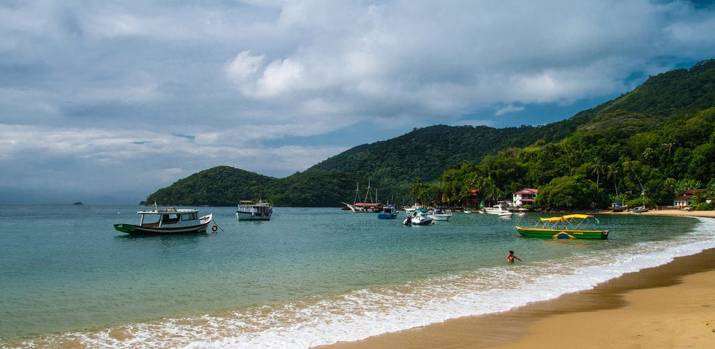 ilha grande is one of the most beautiful islands