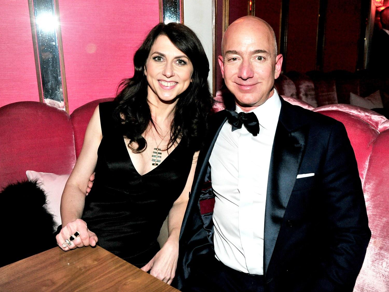 jeff and mackenzie bezos expensive divorces