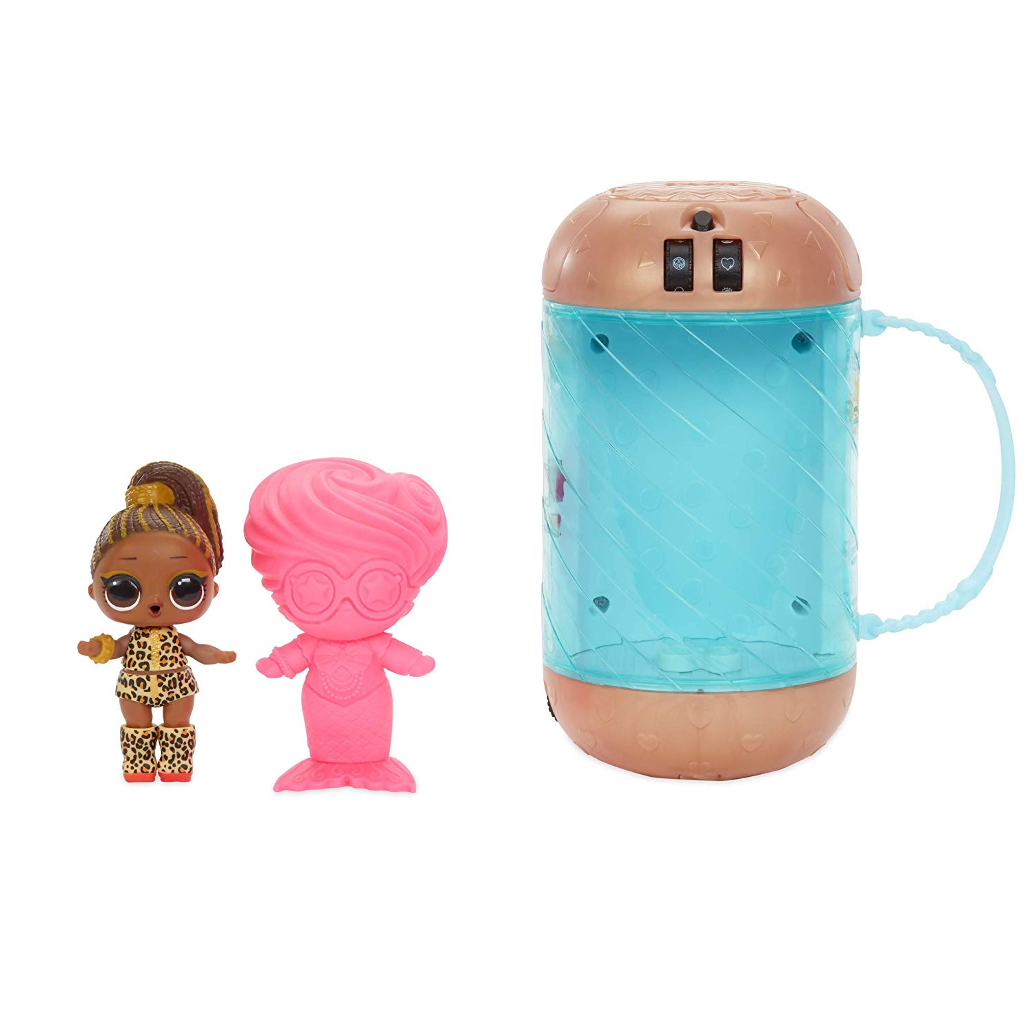 l.o.l. surprise dolls holiday toys with bottle