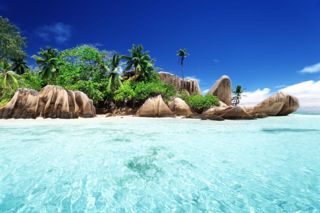 la digue one of the beautiful islands of seychelles