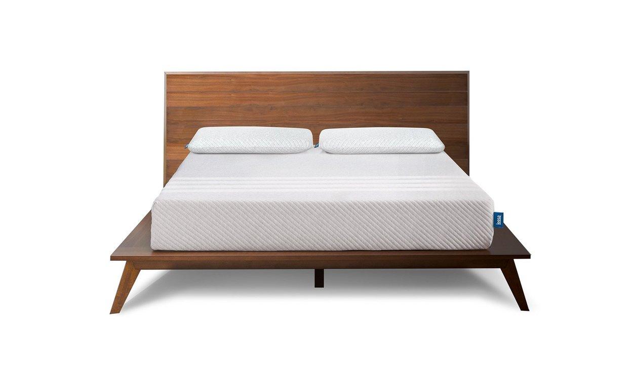 A Leesa bed is comfortable