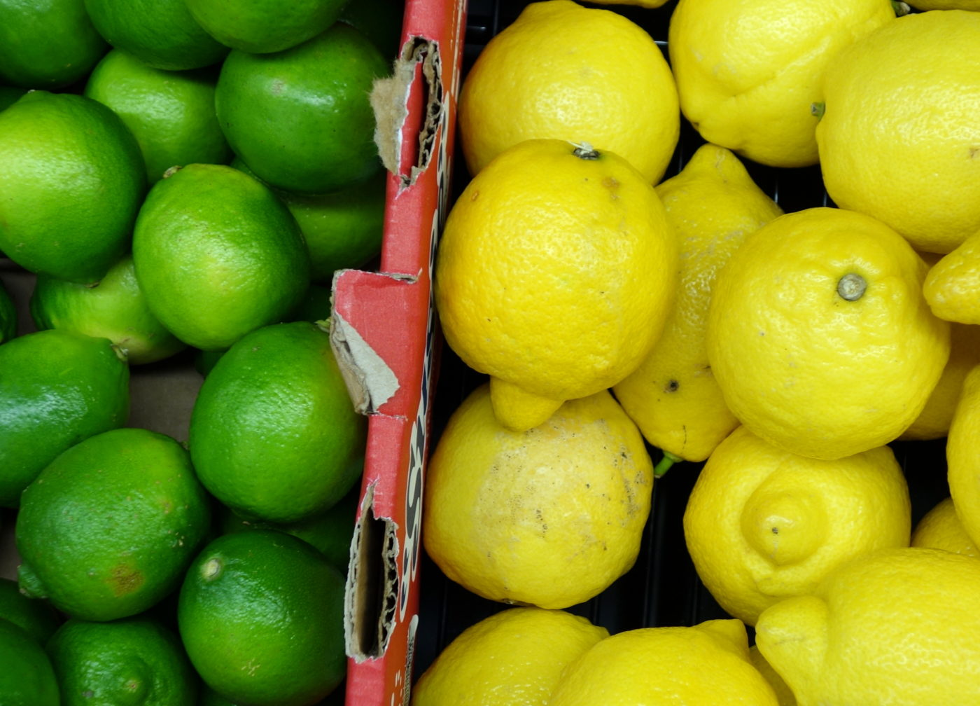 limes and lemons an almost zero calorie foods