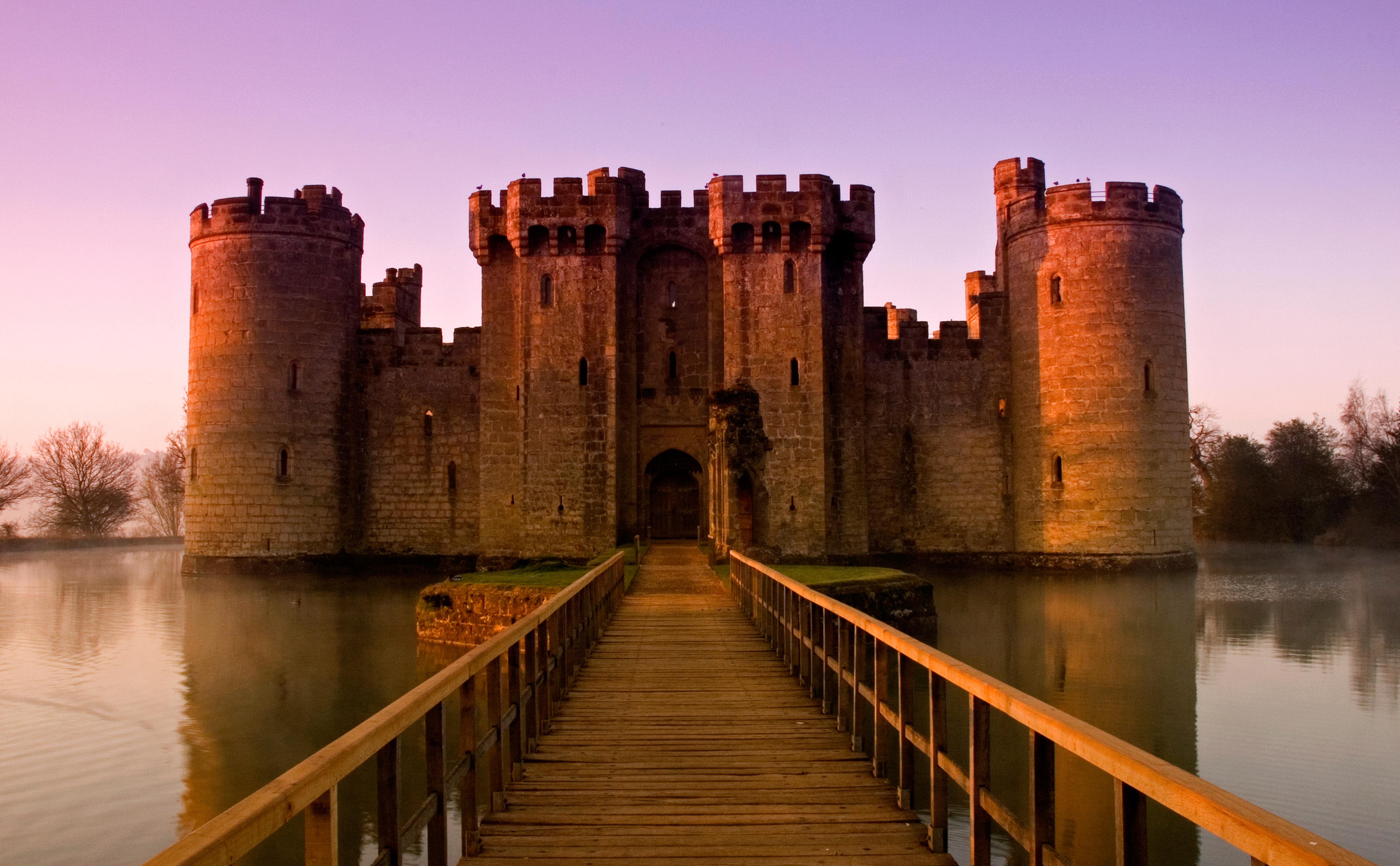 most impressive castles bodiam castle england