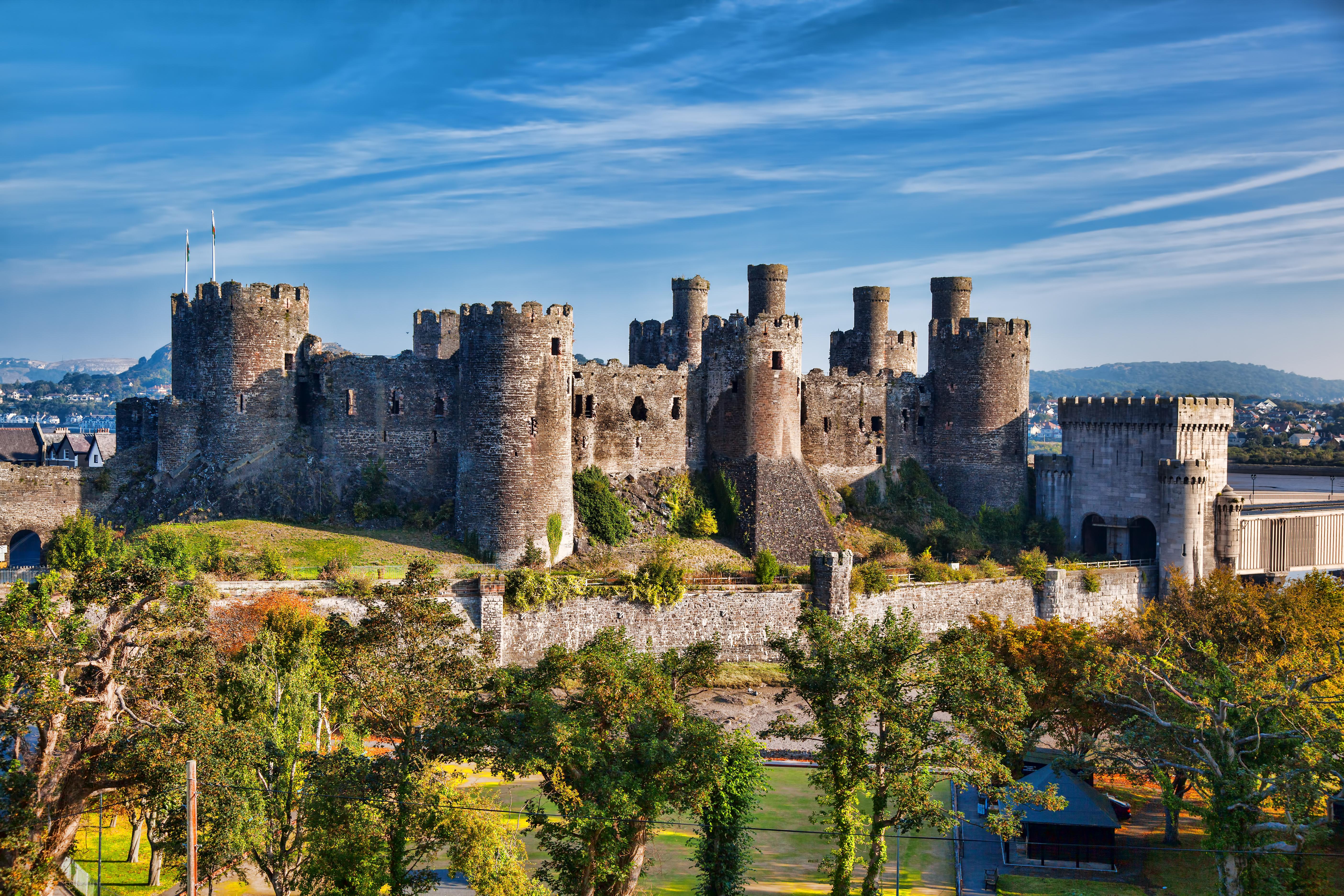 most impressive castles conwy castle england