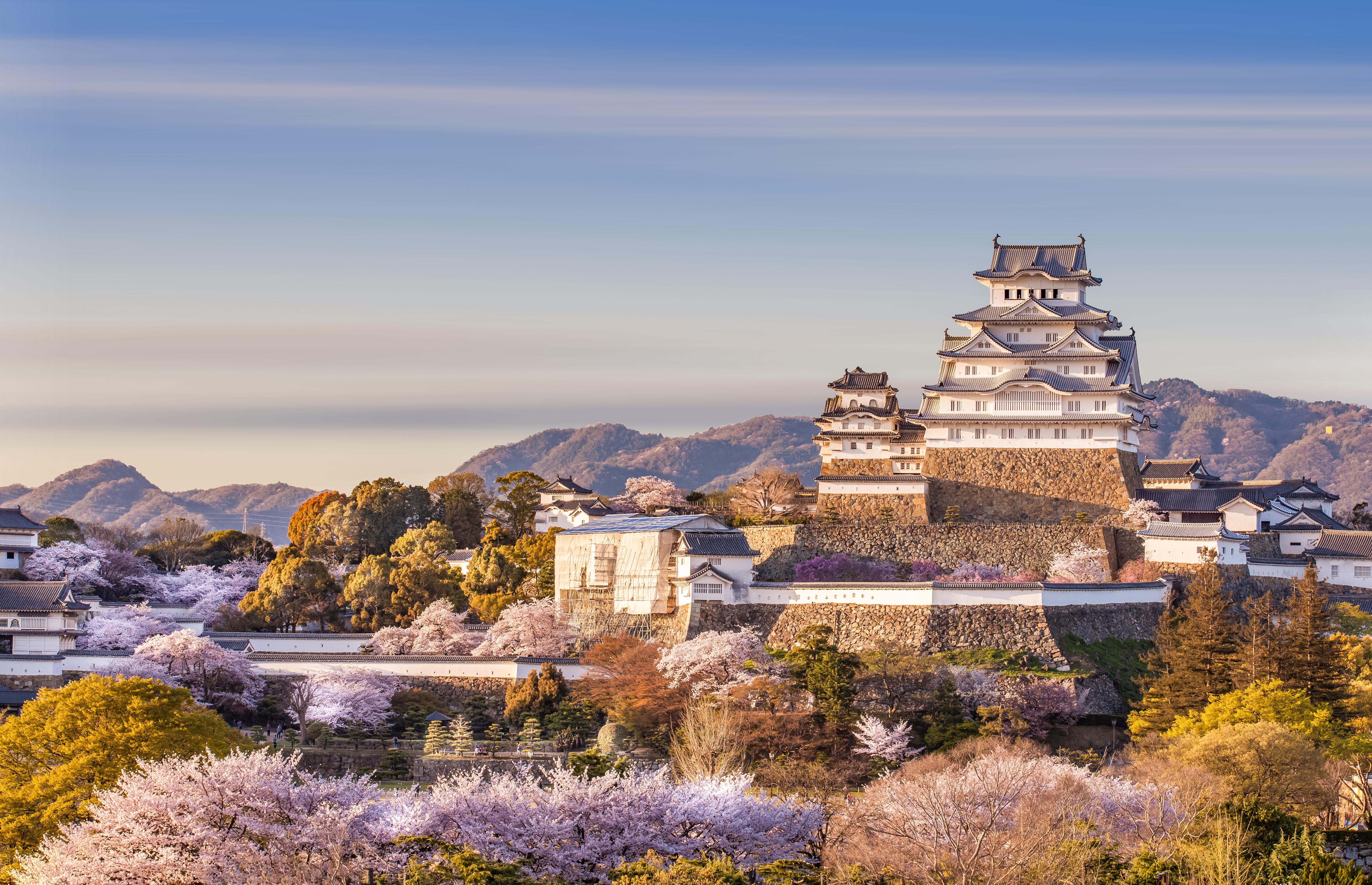 most impressive castles himeji castle japan