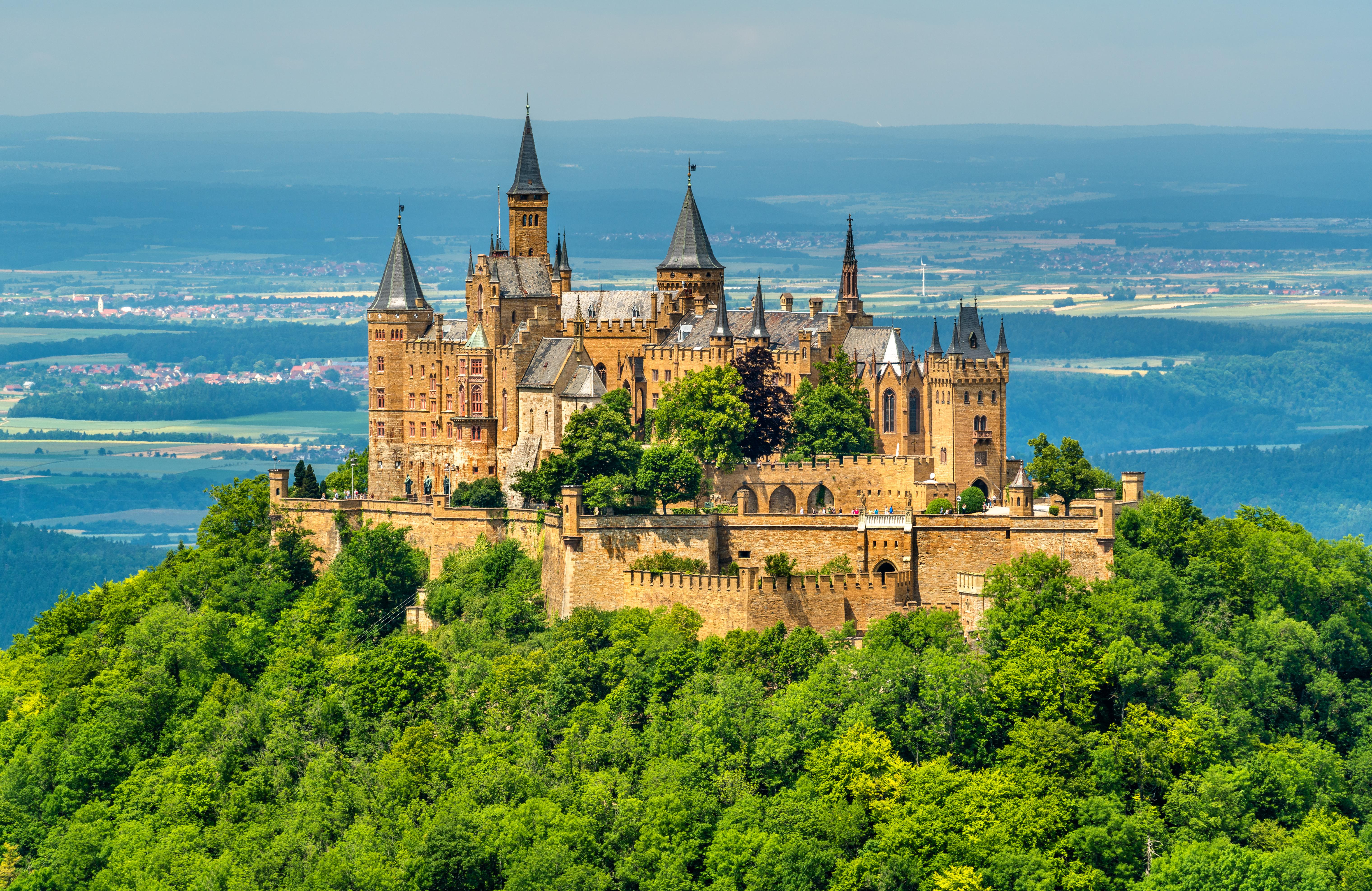 most impressive castles hohenzollern castle