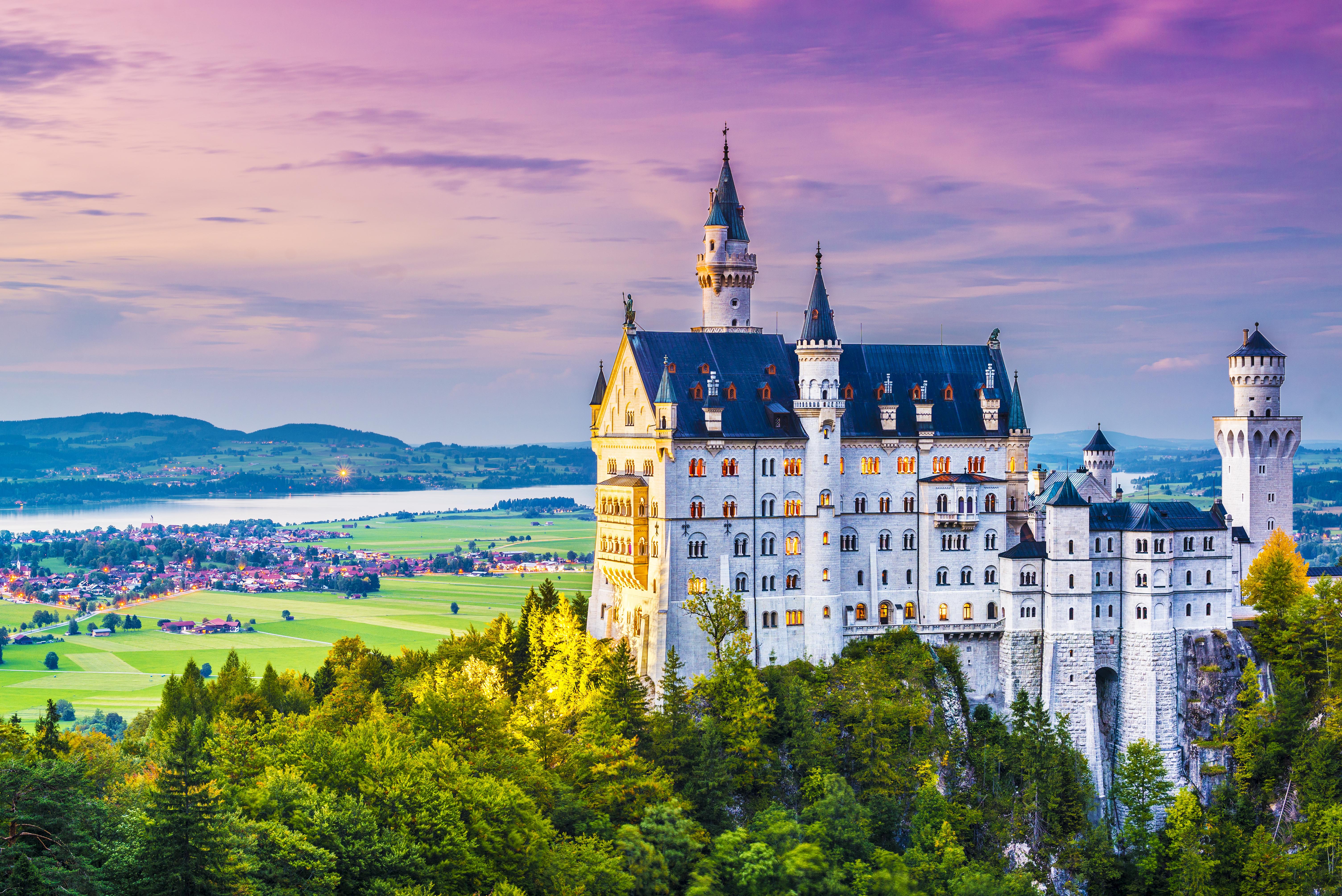 most impressive castles neuschwanstein