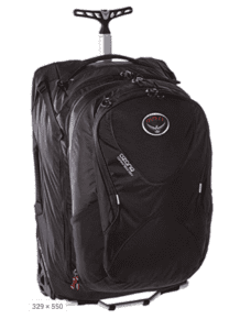 osprey ozone convertible luggage