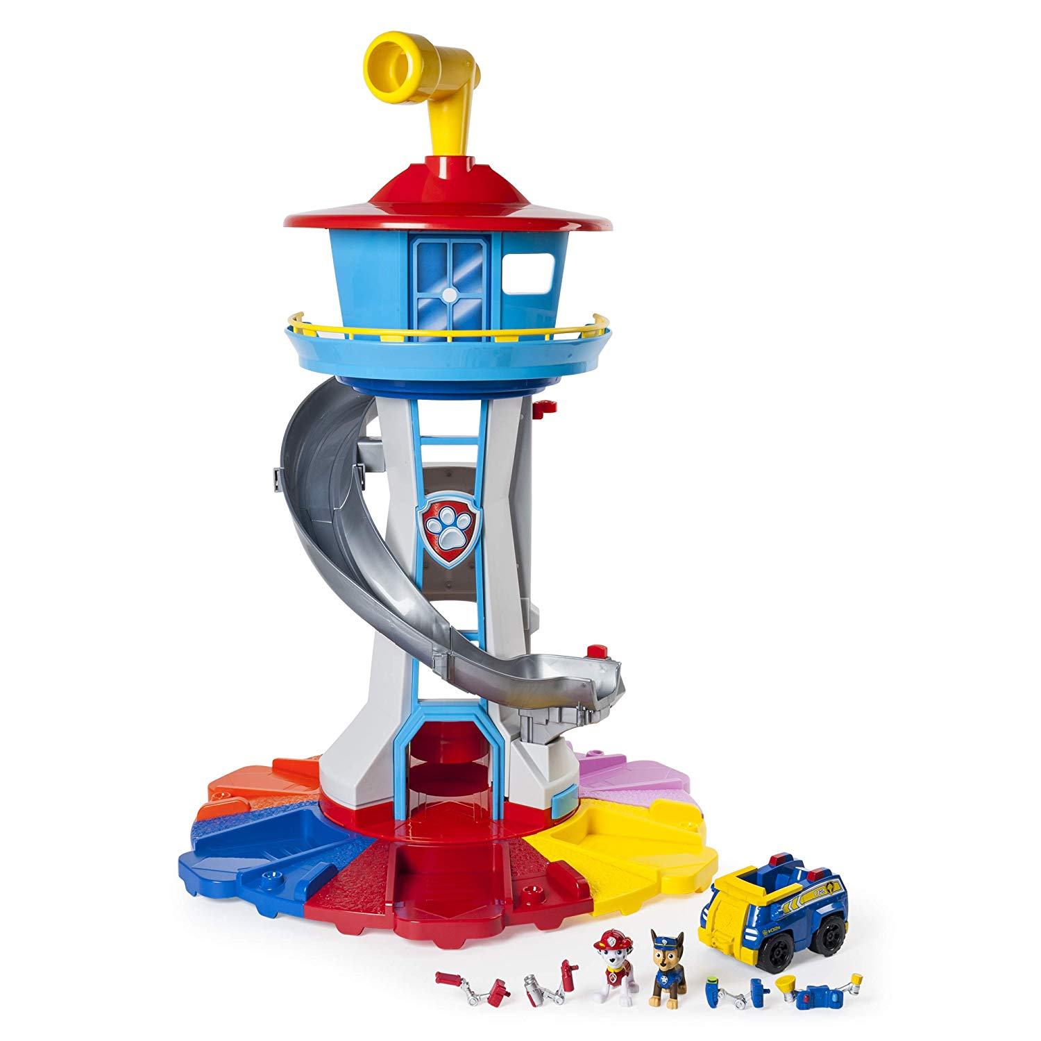 paw patrol my size lookout tower with vehicle holiday toys