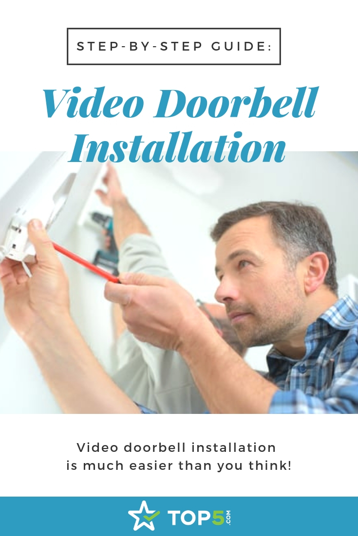 step-by-step guide - video doorbell installation