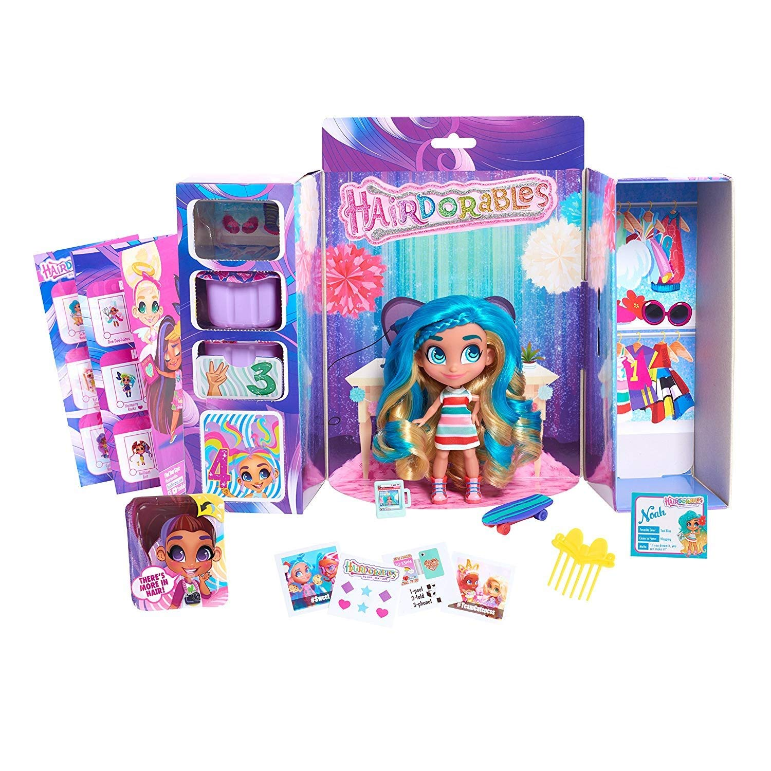 the perfect holiday toys for girls hairdorable doll with accessories