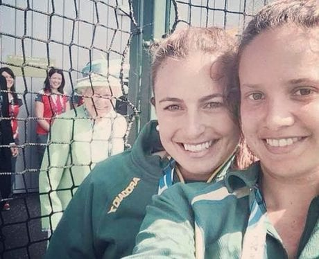 the queen celebrity photobombs