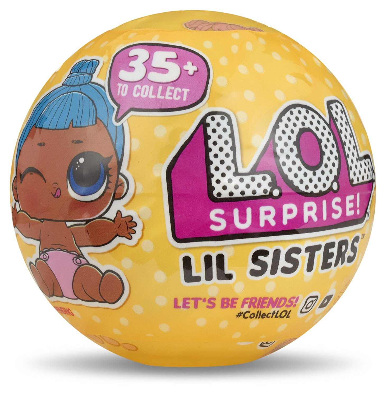 l.o.l. surprise collectible doll inside a ball | holiday toys