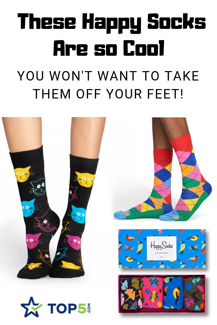 these happy socks are so cool you won't want to take them off your feet!