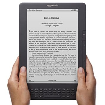 Kindle's are great gifts for travel lovers