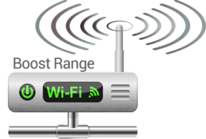 Here's what a wifi signal booster looks like