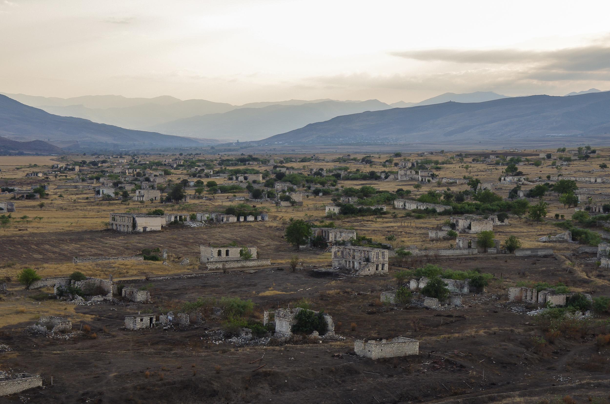 agdam azerbaijan ghost towns