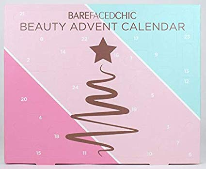barefaced beauty advent calendars