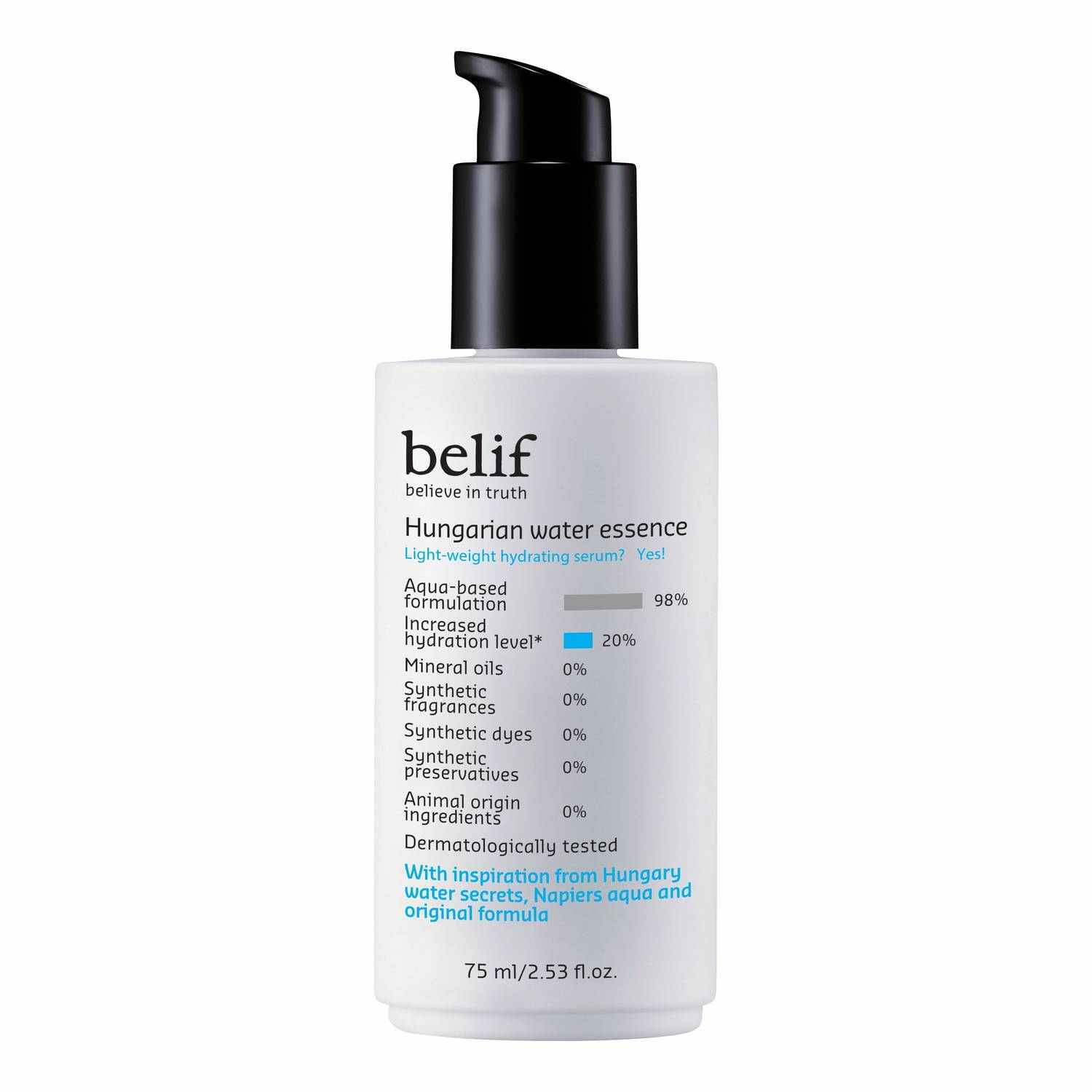 belif hungarian water essence
