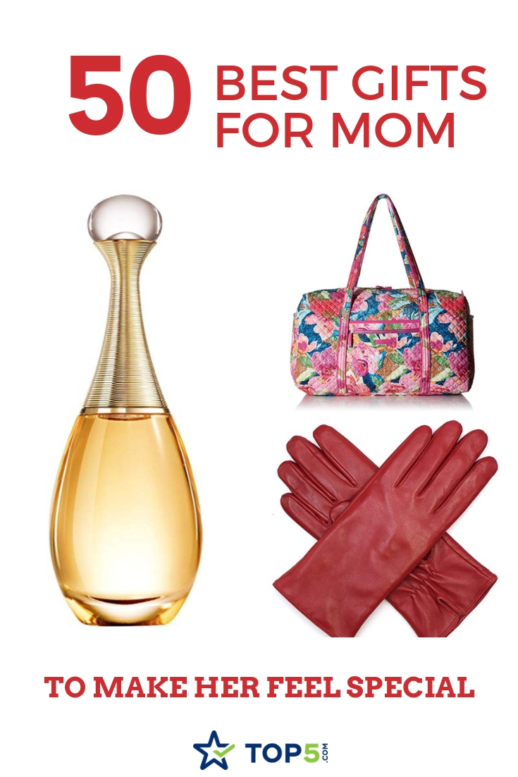 best 50 gifts for mom to make her feel special