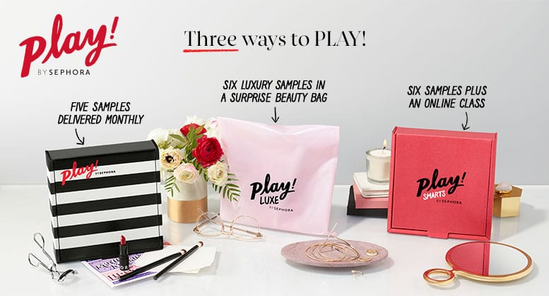 best beauty subscription box play by sephora