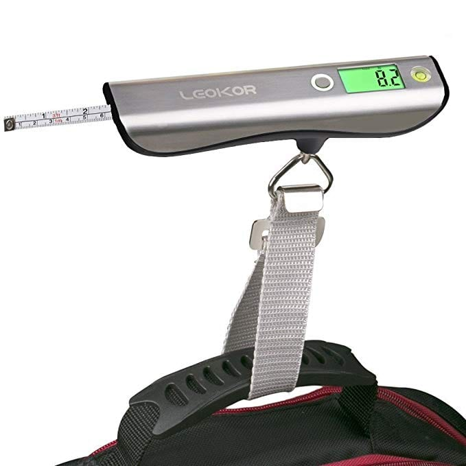 best luggage scale best digital luggage scale leokor