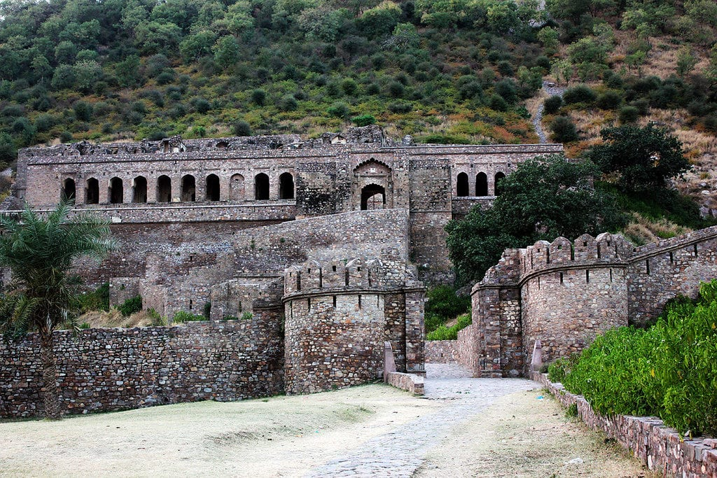 bhangarh rajasthan india ghost towns