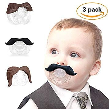 broke student gifts broke student gift giving guide mustache pacifier
