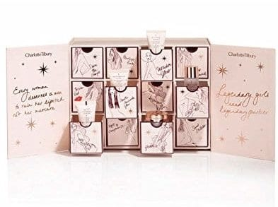 charlote tilbury beauty advent calendars