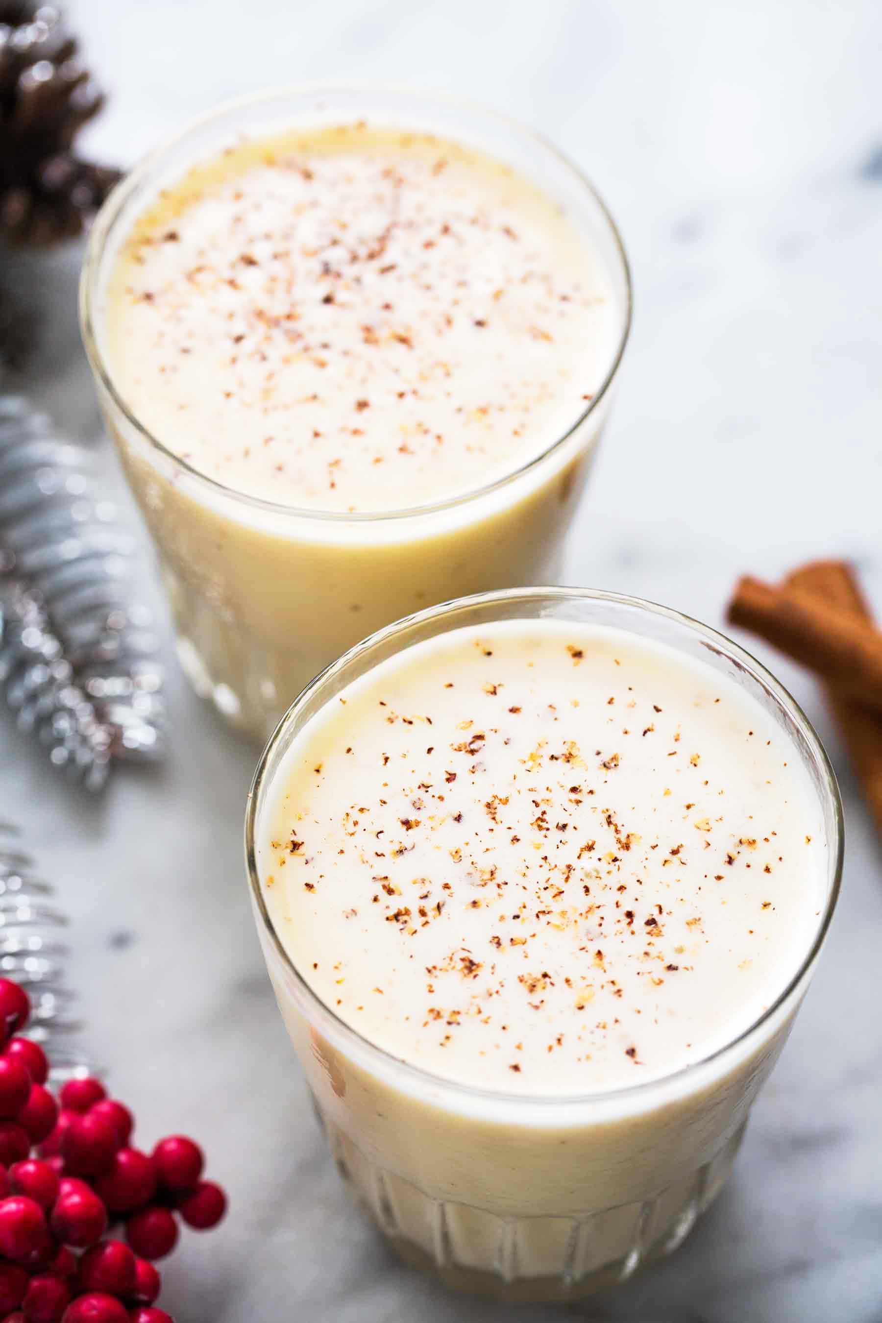 christmas traditions eggnog