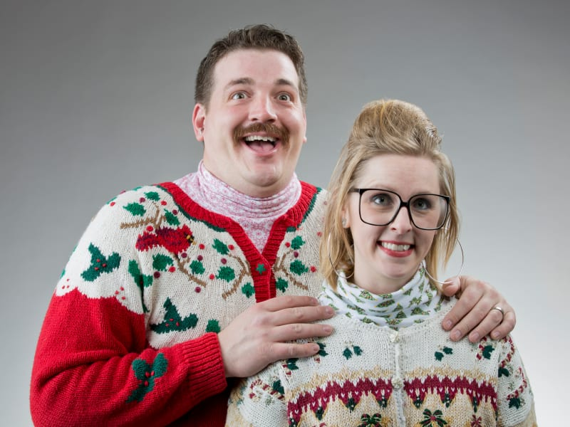 christmas traditions ugly sweaters