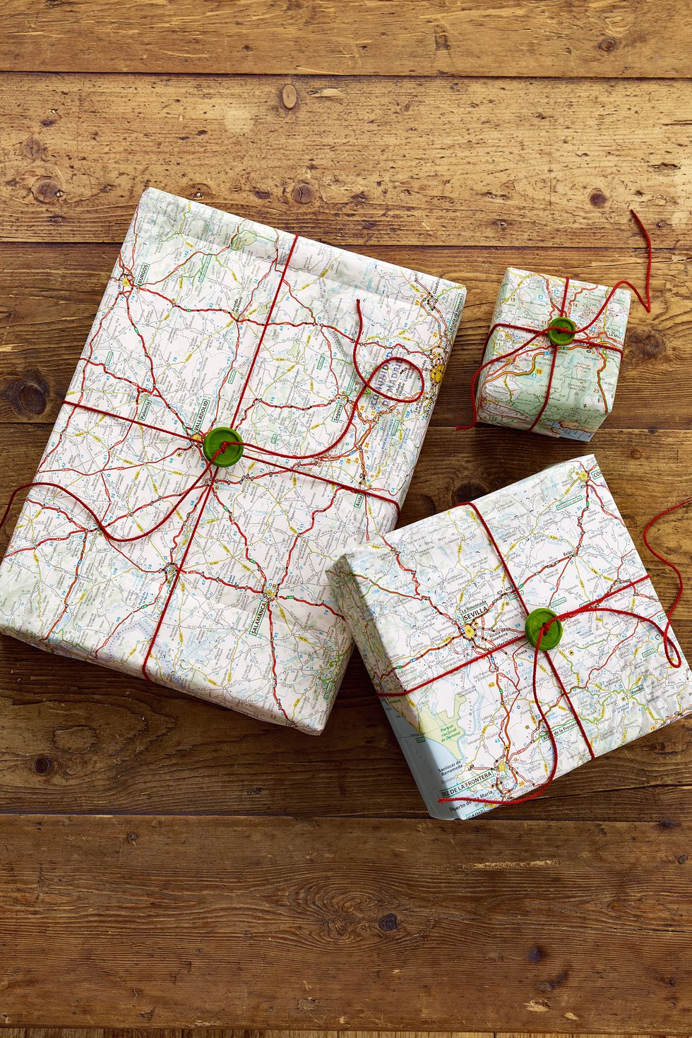 christmas wrap road map