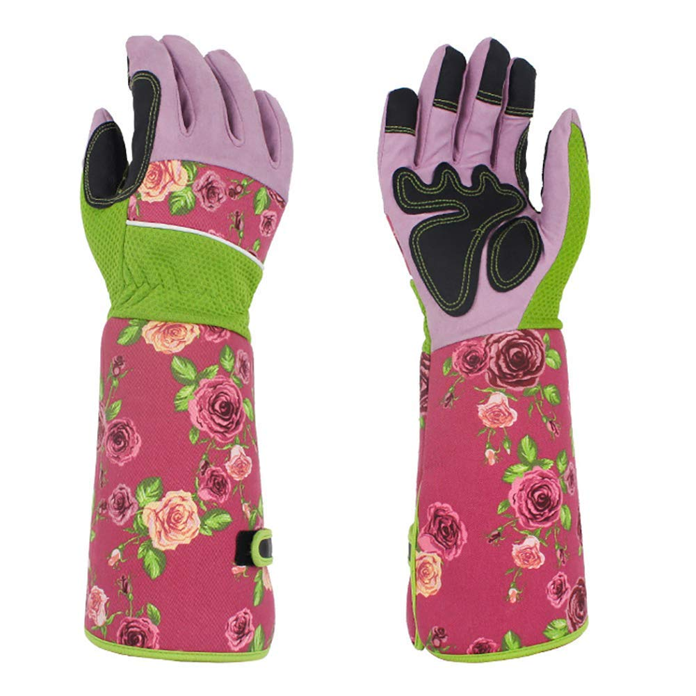 gift for mom gardeners, professional long gardening gloves