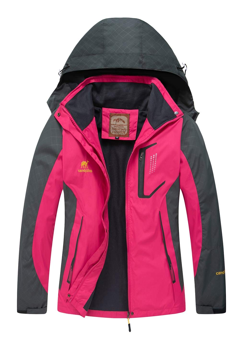 gifst for mom who likes the outdoors, softshell hiking waterproof coat