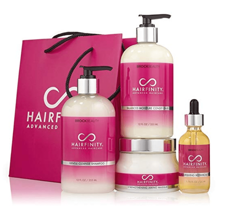 gift for mom who loves beauty, hairfinity ultimate revival kit