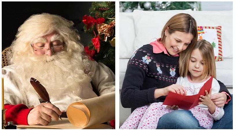 get a Santa letter for your child