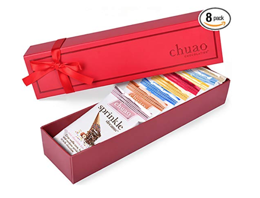 gifts for mom that likes a cosy night in, chuao chocolatier gift set