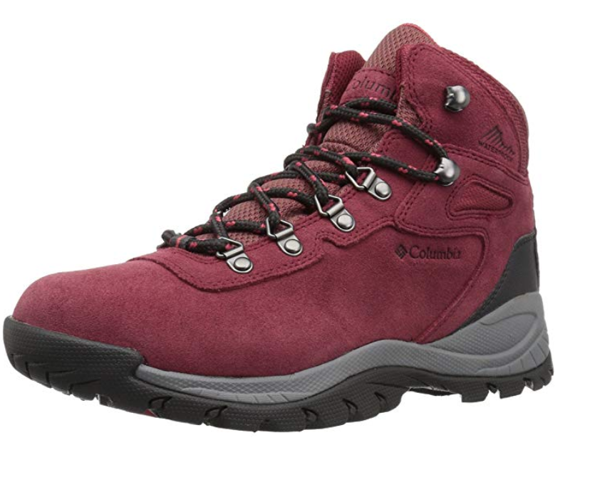 gifts for mom that likes the outdoors, columbia women's newton ridge hiking boot