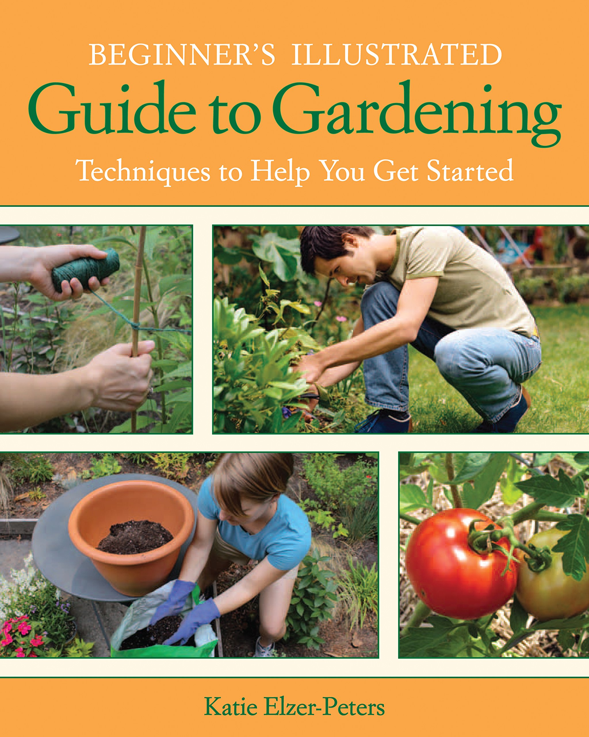gifts for mom that likes to garden. beginner's illustrated guide to gardening