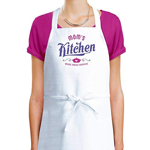 gifts for mom who cooks, personalized apron