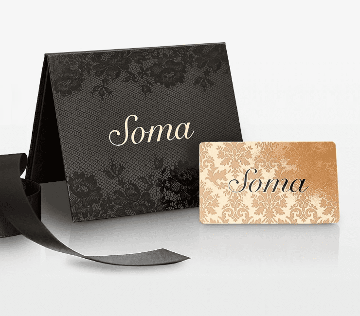 A Soma gift card is perfect for an insomniac