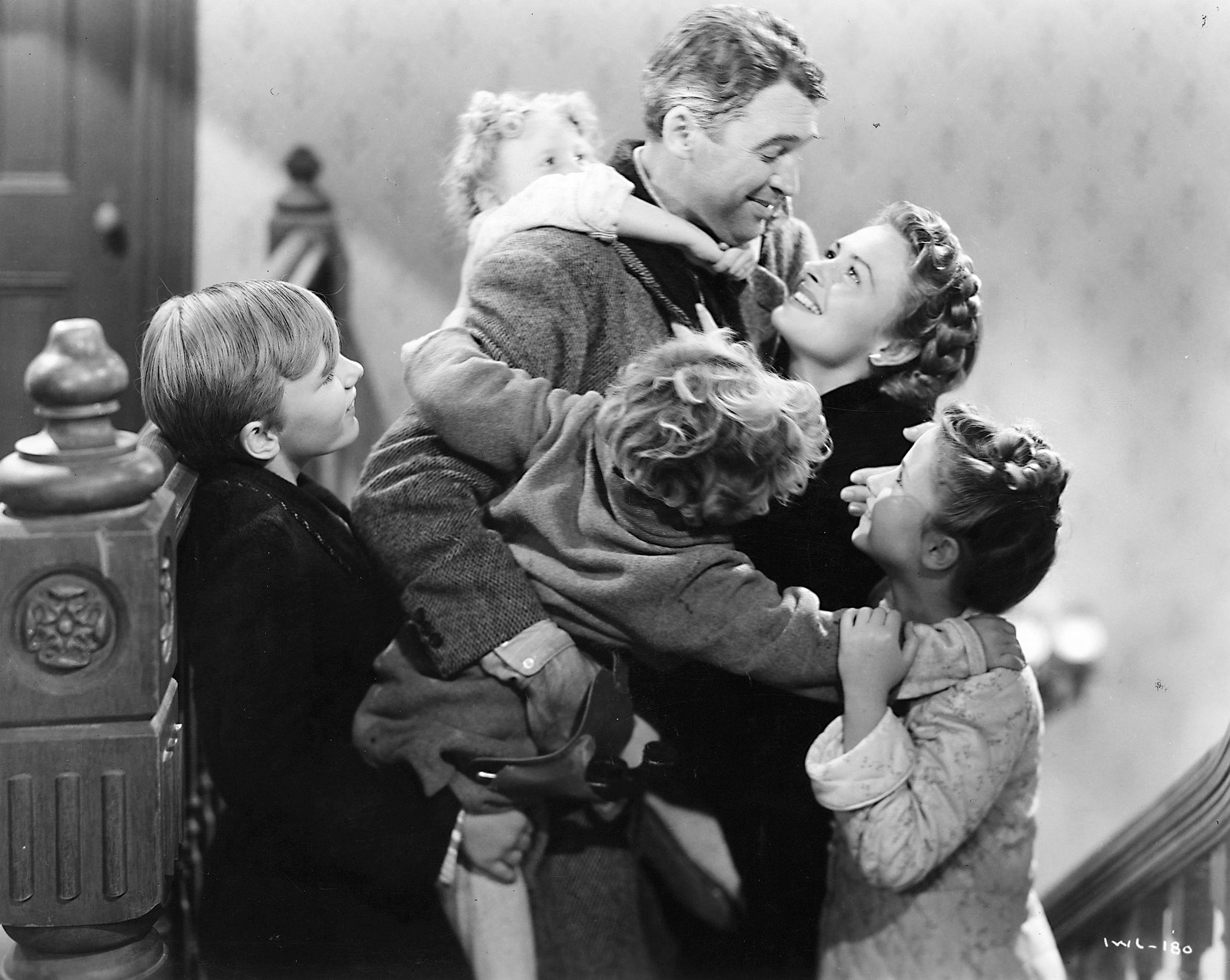 Classic scene from It's a Wonderful Life