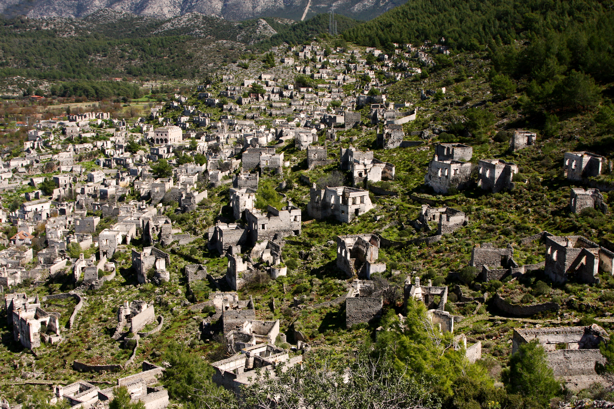 Kayakoy Fethiye turkey ghost towns