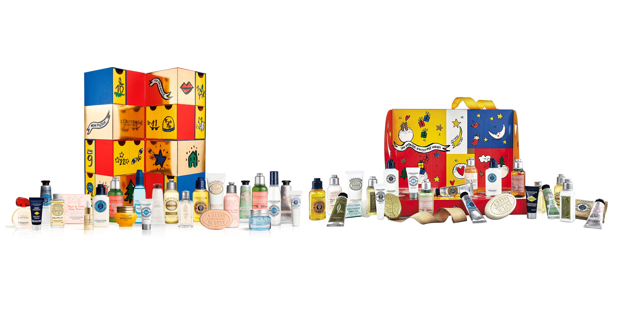 loccitane beauty advent calendar beauty advent calendars