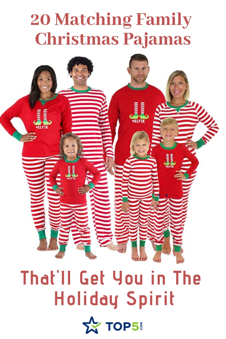 20 Matching Family Christmas Pajamas That ll Get You in the Holiday ... dd14f6682