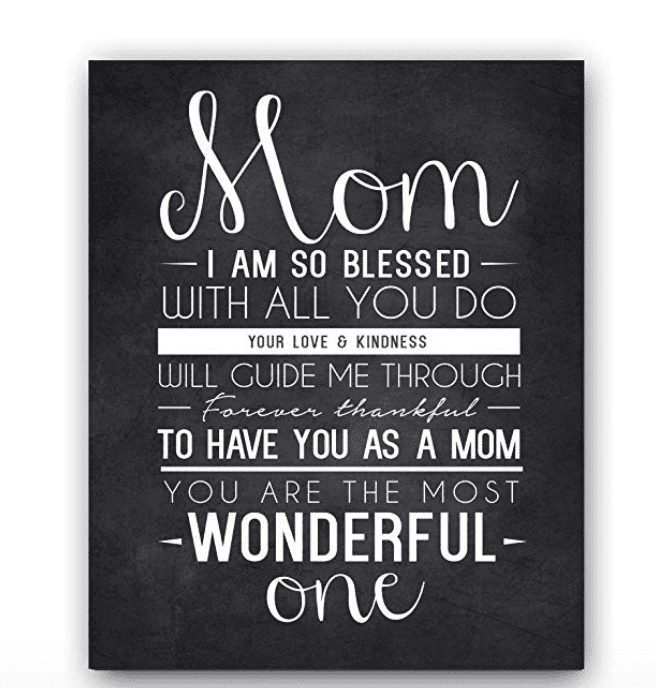 mom quote chalkboard art gifts for mom